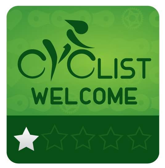 Cyclist Welcome 1