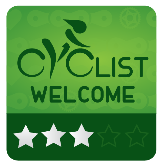 Cyclist Welcome 3