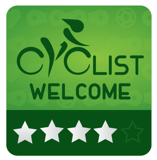 Cyclist Welcome 4